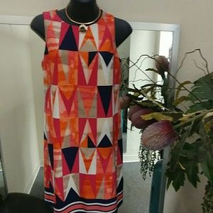 Jessica Howard Petite Printed Dress